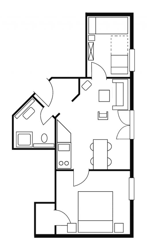 Haus Karoline Wohnung 1