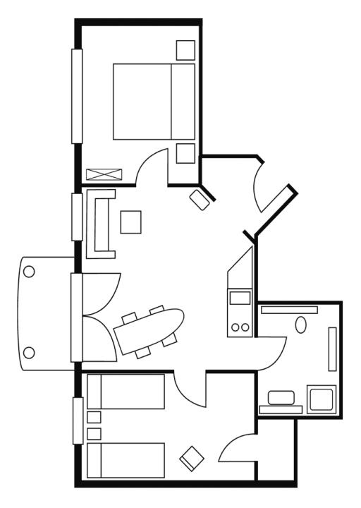 Haus Karoline Wohnung 2